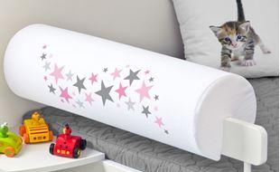 Obrázek Chránič na postel - hvězdičky