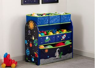 Obrázek Organizér na hračky Astronaut