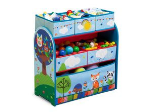 Obrázek Organizér na hračky Lesní zvířátka