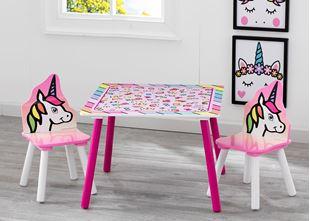 Obrázek Dětský stůl s židlemi Jednorožec