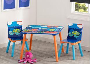 Obrázek Dětský stůl s židlemi Oceán