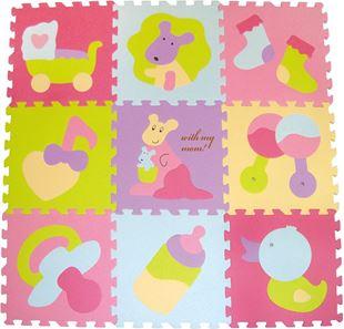 Obrázek Pěnové puzzle - barevné hračky