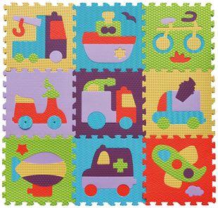 Obrázek Pěnové puzzle - jezdítka