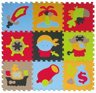 Obrázek z Pěnové puzzle - piráti