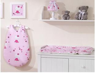 Obrázek Přebalovací podložka Hello Kitty - Růžová