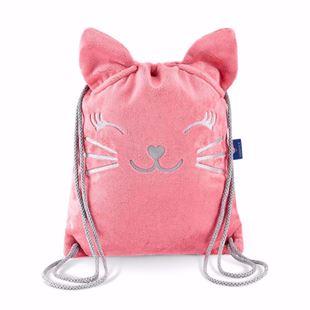 Obrázek Dětský batůžek Kočička - Růžová