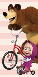 Obrázek Dětská osuška Máša a medvěd