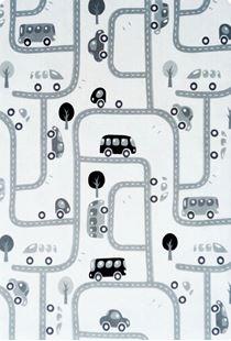 Obrázek Dětský koberec MILUJEME HRU - černo-bílý 90x130 cm