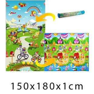 Obrázek Dětský pěnový koberec Domek lva + Pohádkový svět 150x180x1 cm