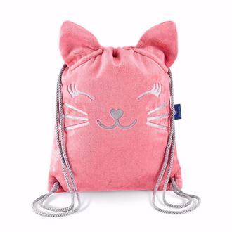 Obrázek z Dětský batůžek Kočička - Růžová