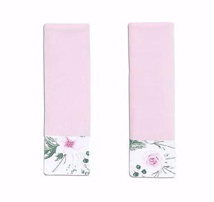 Obrázek Chránič pásů Kytičky - Růžová
