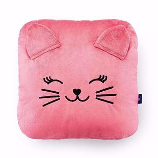 Obrázek Dětský polštářek Kočička - Růžová