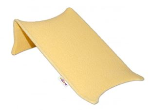 Obrázek Lehátko do vaničky LUX  froté - žluté