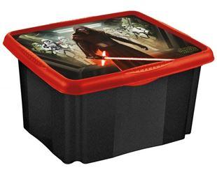 Obrázek Box na hračky Star Wars  24 l - černý