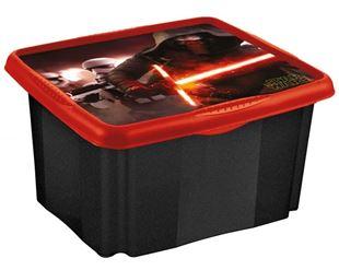 Obrázek Box na hračky Star Wars  45 l - černý