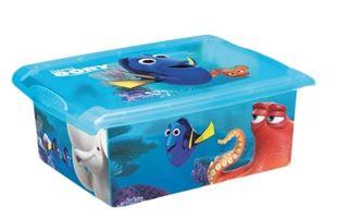 Obrázek Box Hledá se Dory 10 l - modrý