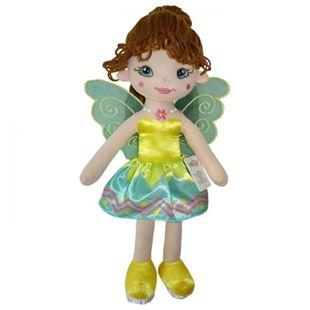 Obrázek Hadrová panenka Florentýna, 45 cm - zelená