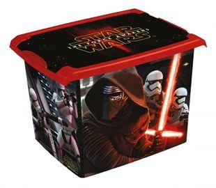 Obrázek Box na hračky, dekorační  Star Wars  20,5 l - černý