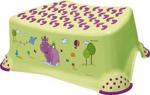 Obrázek Stolička, schůdek s protiskluzovou funkcí  - Hippo - limetka