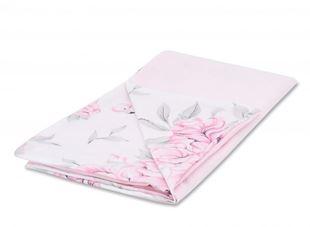 Obrázek Luxusní dečka Velvet, 100x75 cm - Plameňák růžový