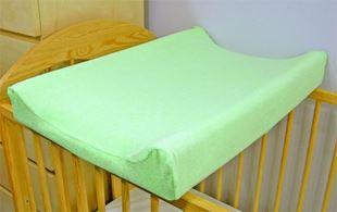 Obrázek Jersey potah na přebalovací podložku, 70cm x 50cm  - zelený