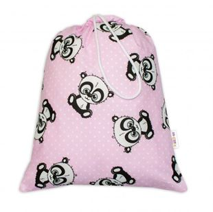 Obrázek Pytlík na přezůvky Baby Panda - růžový