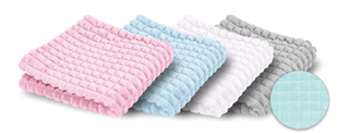 Obrázek Dětská deka Minky čtverce/Jersey 75x100 cm
