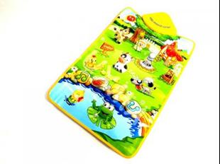 Obrázek Interaktivní hrací deka Farma