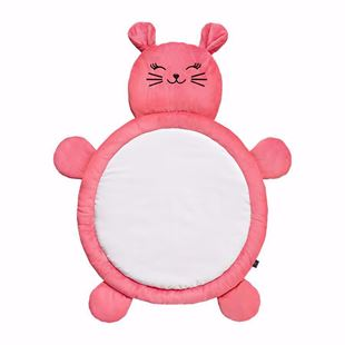 Obrázek Hrací deka Kočička - Růžová