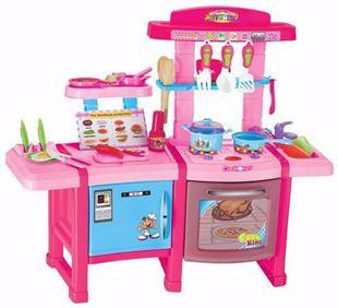 Obrázek Dětská kuchyňka se zvuky s lednicí a pekárnou