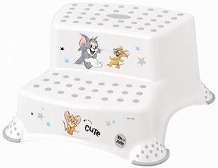 Obrázek Stolička - schůdky s protiskluzovou funkcí - Tom a Jerry