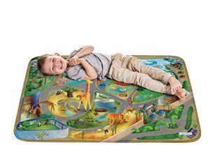 Obrázek Dětský koberec na hraní  Soft Zoo 100x150 cm
