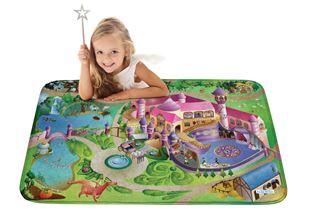 Obrázek Dětský koberec na hraní Soft Zámek 100x150 cm
