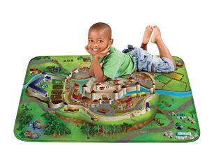 Obrázek Dětský koberec na hraní Soft Hrad 100x150 cm