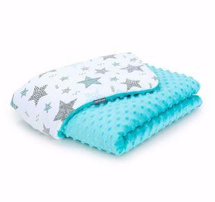 Obrázek Dětská deka Hvězdy 2 Minky 100x135 cm