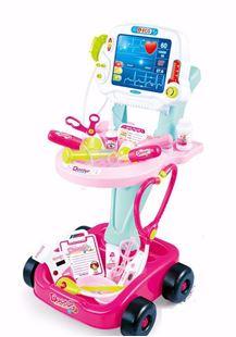 Obrázek Dětská zdravotnická sada na vozíku ekg
