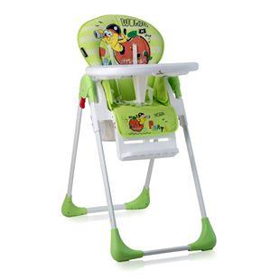 Obrázek Jídelní židlička TUTTI FRUTTI Zelená Červ