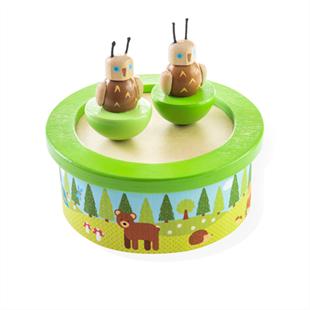 Obrázek Dřevěná hrací skříňka woodland