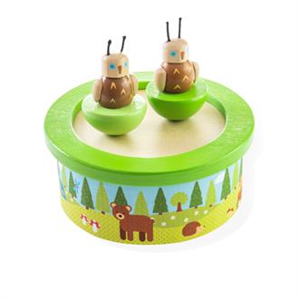 Obrázek z Dřevěná hrací skříňka woodland