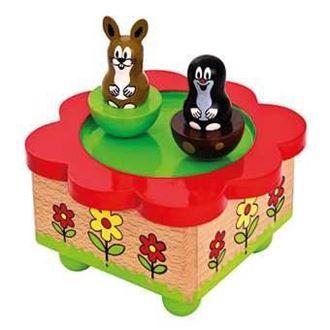 Obrázek z Hrací skříňka Krtek