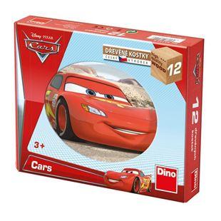 Obrázek Dřevěné kostky Cars ve světě