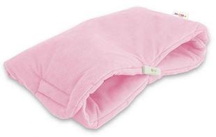 Obrázek Luxusní rukávník Velvet, 40 x 20cm - sv. růžová