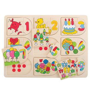 Obrázek Obrázkové počítací puzzle