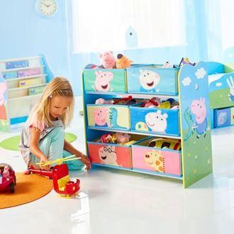 Obrázek z Organizér na hračky Peppa Pig