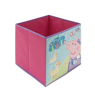 Obrázek Dětský látkový úložný box Prasátko Peppa