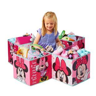 Obrázek Čtyři úložné boxy - Minnie Mouse