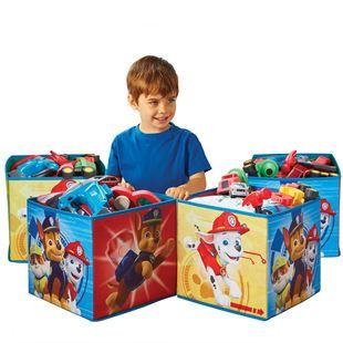Obrázek Čtyři úložné boxy - Paw Patrol