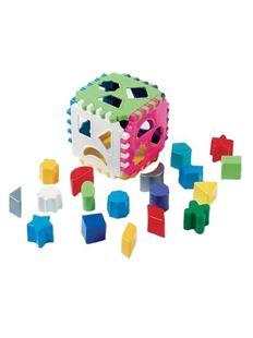Obrázek Dětská vkládací kostka