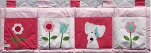 Obrázek Kapsář za postel 160x50 cm - Louka