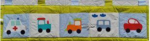 Obrázek Kapsář za postel velký 200x50 cm - Traktor